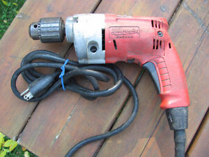 "1/2"" MILWAUKEE ELECTRIC DRILL"
