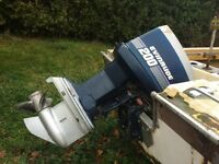 200 hp evinrude outboard motor