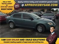 """CAR LOANS MADE EASY - COBALT - TEXT """"AUTO LOAN"""" TO 519 567 3020"""