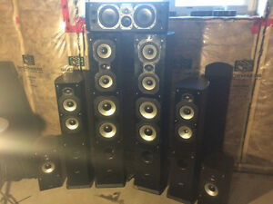 Sound stage speakers