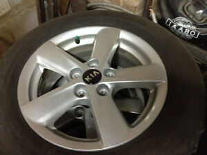 16 inch Kia rims and tires