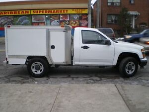 2012 Chevrolet Colorado with service-box