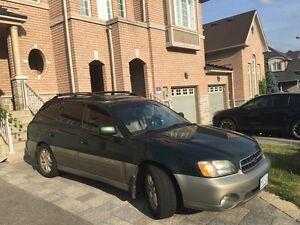 2002 Subaru Outback AWD 2.5L Fully Loaded