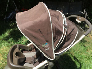 Comfortable and spacious LUX Stroller - The baby will love it!