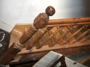 Turn of 20th Century Bannister
