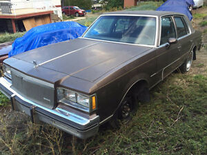 1984 buick regal 4door 70kms!!!! PARTING OUT!!!