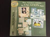 Vacation scrapbook kit