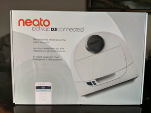 Neato Botvac D3 Connected Laser Navigating Robot Vacuum - White