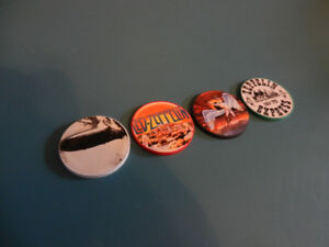Led Zeppelin Collectible Standard Size Poker Chips Set of 4