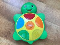 **As New Playskool Elefun & Friends Shapes 'N Colors Turtle Toy**