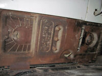 1950's cooking wood stove