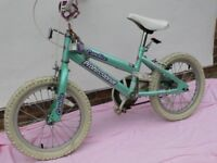 """Girl's Bicycle """"16 Candice Professional"""" suit 5 to 8 year old. Good condition."""