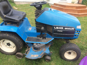 wanted new Holland ls 45 ride on for parts or repair