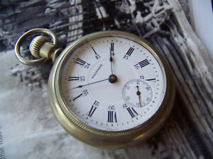 1907 Waltham Pocket Watch - 17 Jewels - Working