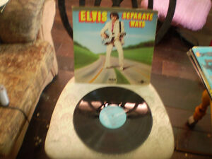 vinyl separate ways elvis presley & raised on rock 33 tour