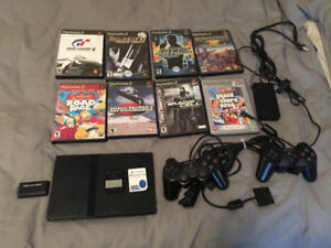 PS2 modded with hdmi output and many extras