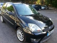 FORD FIESTA 1.6 TDCI ZETEC S 3DR ALLOYS LEATHER PRIVACY GLASS