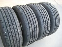 New set of 4 - 215/55R16 Continental ContiProContact tires