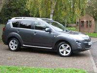 Peugeot 4007 2.2HDi GT**DIESEL 4x4**7 SEATS**FSH**156BHP**CAMBELT DONE**