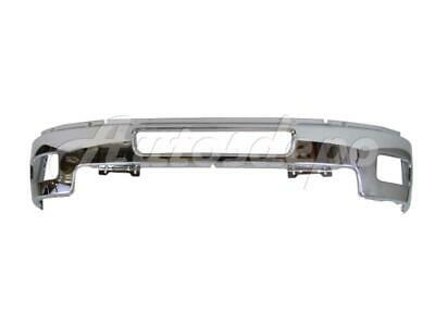 For 2011-2014 Silverado 2500Hd 3500 Front Steel Bumper BAR Chrome (W/ Fog Hole)
