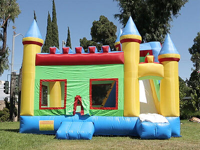 NEW Commercial Grade Super Castle Kingdom Inflatable Jump Bounce House 100% PVC