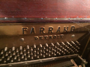 Farrand Detroit player piano Belleville Belleville Area image 4