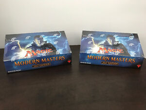 MTG - 2 Sealed Booster Box of Modern Master 2017 and EMA