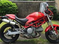 Ducati monster 05 plate only 5547miles from new 12 month mot