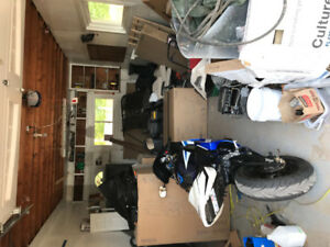 Two gsxr 600's trade for cargo van