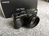 Fuji X70 Digital Compact Camera.