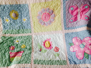 Girls quilt and pillow sham- Single bed. Strathcona County Edmonton Area image 3