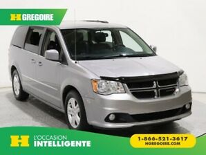 2017 Dodge GR Caravan Crew Plus STOW'N GO CUIR CAMERA NAVIGATION