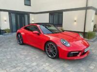 PORSCHE 911 3.0 T 992 CARRARA 4 PDK 4WD S/S RED 2020