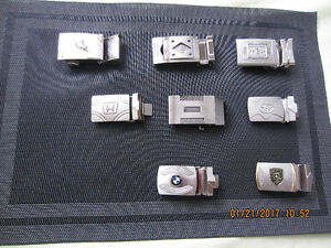 Belt buckles for car companies