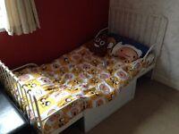 Kids single bed frame (adjustable)