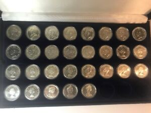 From 1935-2000 SILVER DOLLARS 59 piece ALL SET FULL (INCL 1948