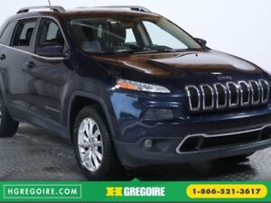 2014 Jeep Cherokee Limited 4WD AUTO TOIT CUIR BLUETOOTH
