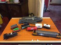 Hornby railways scalextrix