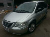Chrysler Voyager 2.8CRD LX Plus AUTOMATIC START DRIVE SOLD SPARES REPAIRS