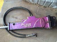 Mini Digger Hydraulic Breaker