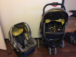 Stroll and car seat