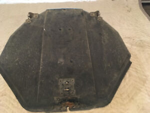 Corvette Spare Tire Cover Carrier Tray 1984-1996