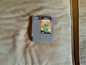 TEENAGE MUTANT NINJA TURTLES II THE ARCADE GAME --- NES Nintendo