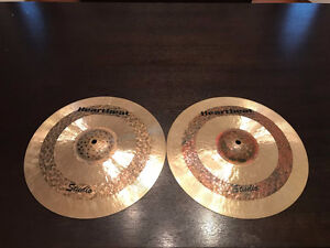 "Heartbeat 14"" Studio Hi-Hats - Hand Hammered Turkish Hats"