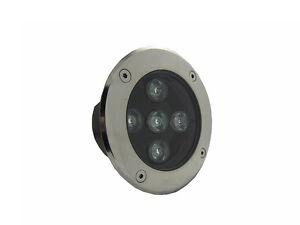 10 x 5w dc12v led spot terrasse lampe encastr exterieur for Spot led exterieur terrasse