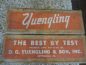 Vintage Rare 1959 Yuengling Premium Beer Pale Dry Wax Beer Case Kitchener / Waterloo Kitchener Area image 6