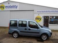 Fiat Doblo Dynamic Wheelchair Scooter Disabled Access Adapted WAV Car