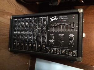 Tosh PA8250 Powered Mixer