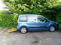 Citroen Berlingo 1.6TD Plus WAV Wheelchair Accessible Vehicle*winch,Power ramp*