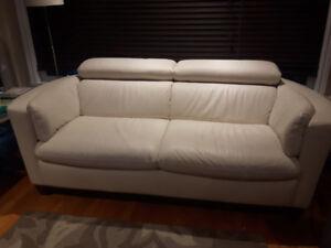 Sofa en cuir Natuzzi – 2 places